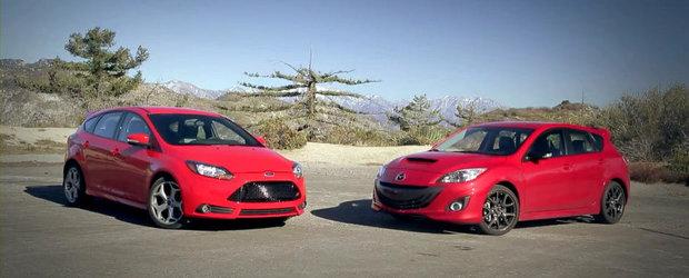 Ford Focus ST sau Mazdaspeed3? Aceasta-i intrebarea!