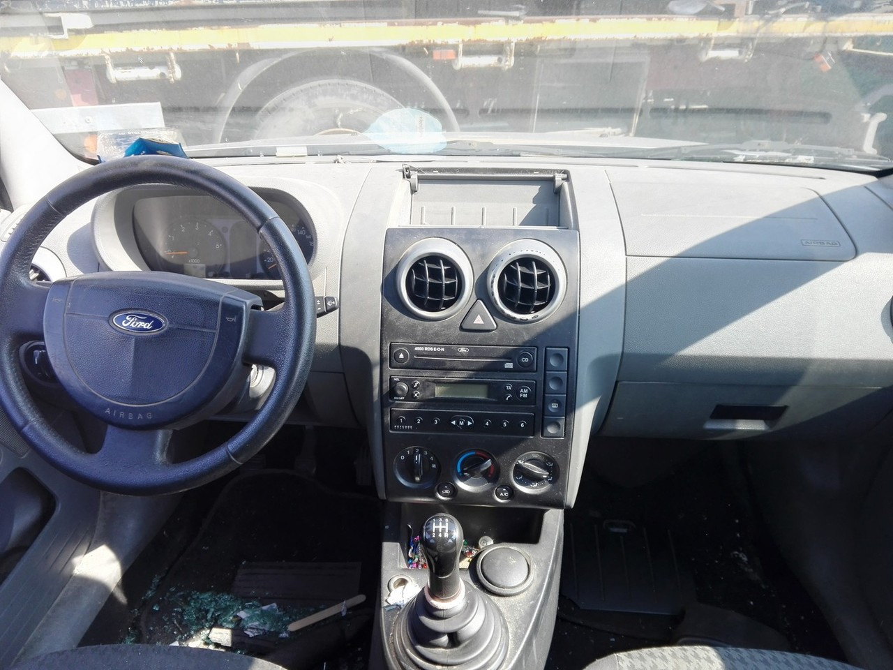Ford Fusion an fab.2004 1.4tdci tip motor F6JA
