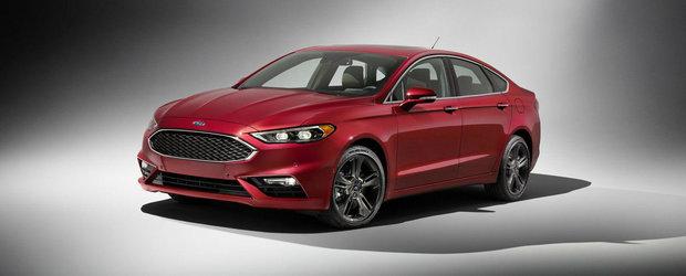 Ford Fusion primeste un V6 twin-turbo de 325 CP. Urmeaza Mondeo?