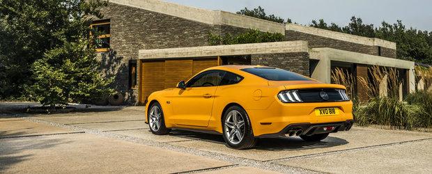 Ford isi pune in cap europenii. Noul Mustang are mai putini cai putere decat modelul pe care il inlocuieste