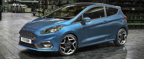 Ford lanseaza noul Fiesta ST impreuna cu un motor in 3 cilindri si 197 de cai