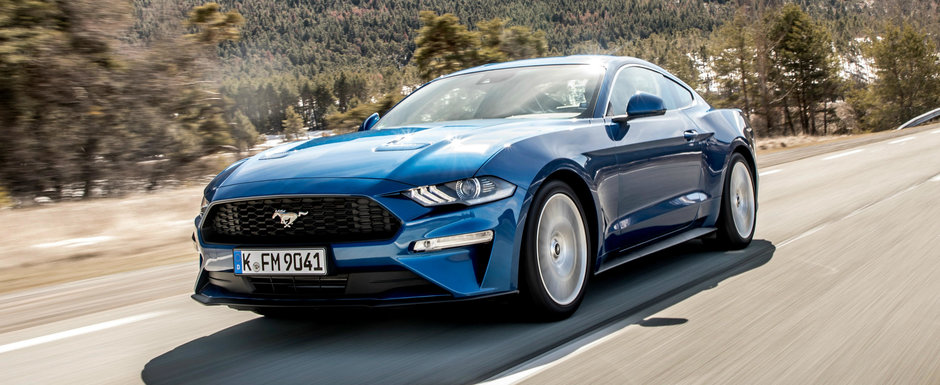 Ford le raspunde carcotasilor care rad de motorul cu patru cilindri de pe Mustang. Ce pregatesc americanii