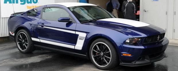 Ford Mustang Boss 302 - Primele poze live!