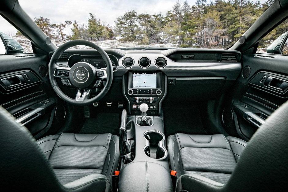 Ford Mustang Bullitt - Versiunea europeana
