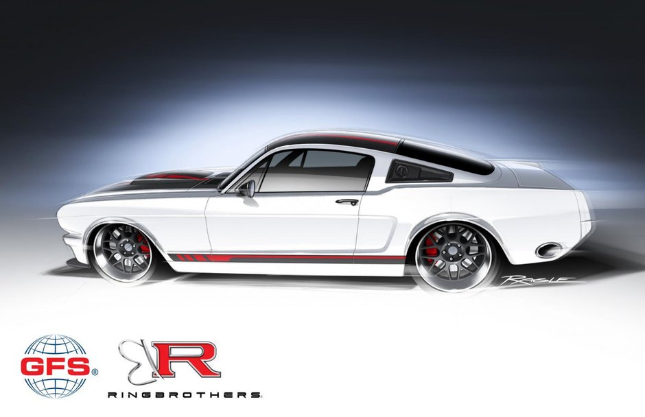 Ford Mustang by Ringbrothers