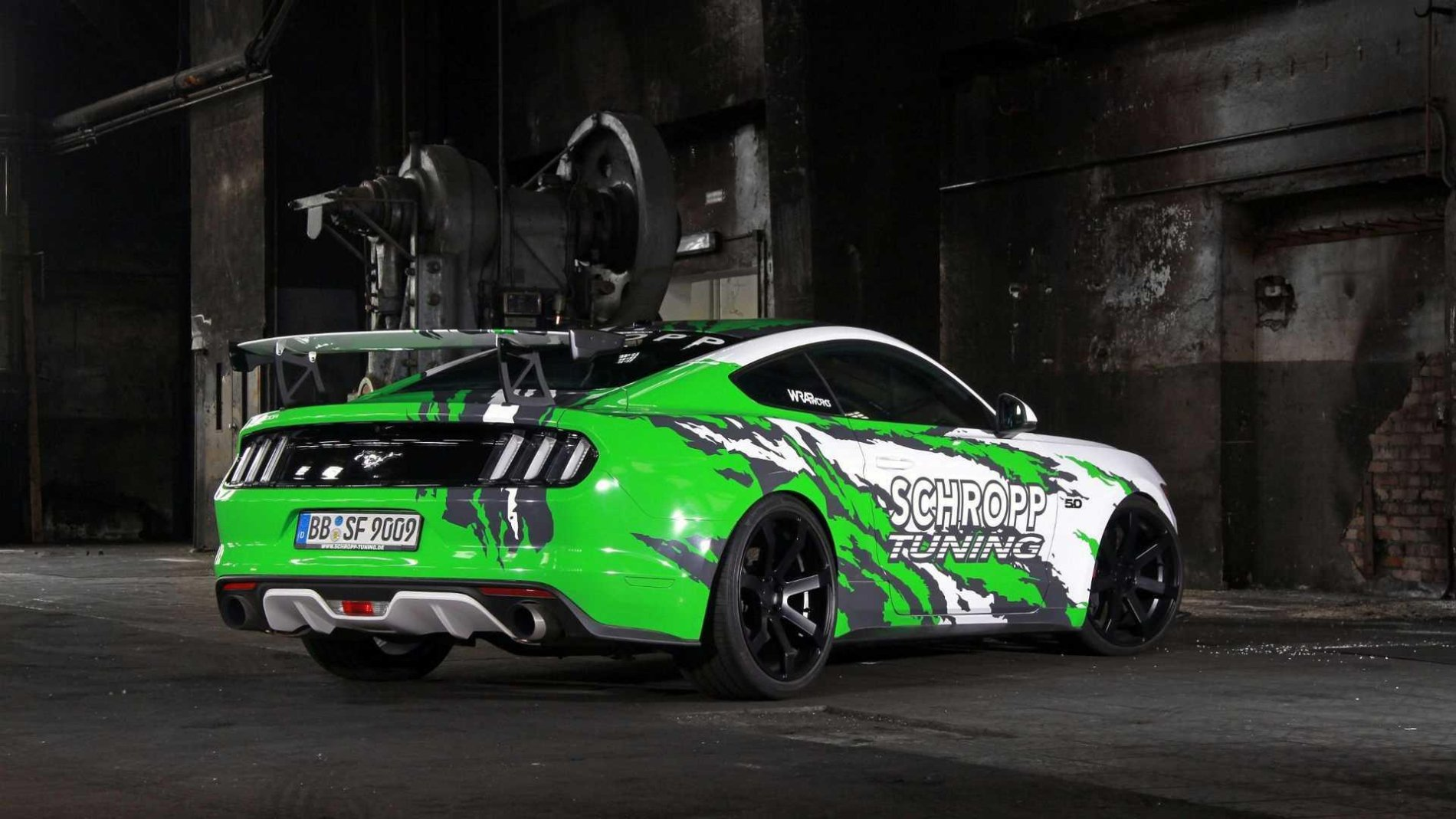 Ford Mustang by Schropp Tuning - Ford Mustang by Schropp Tuning