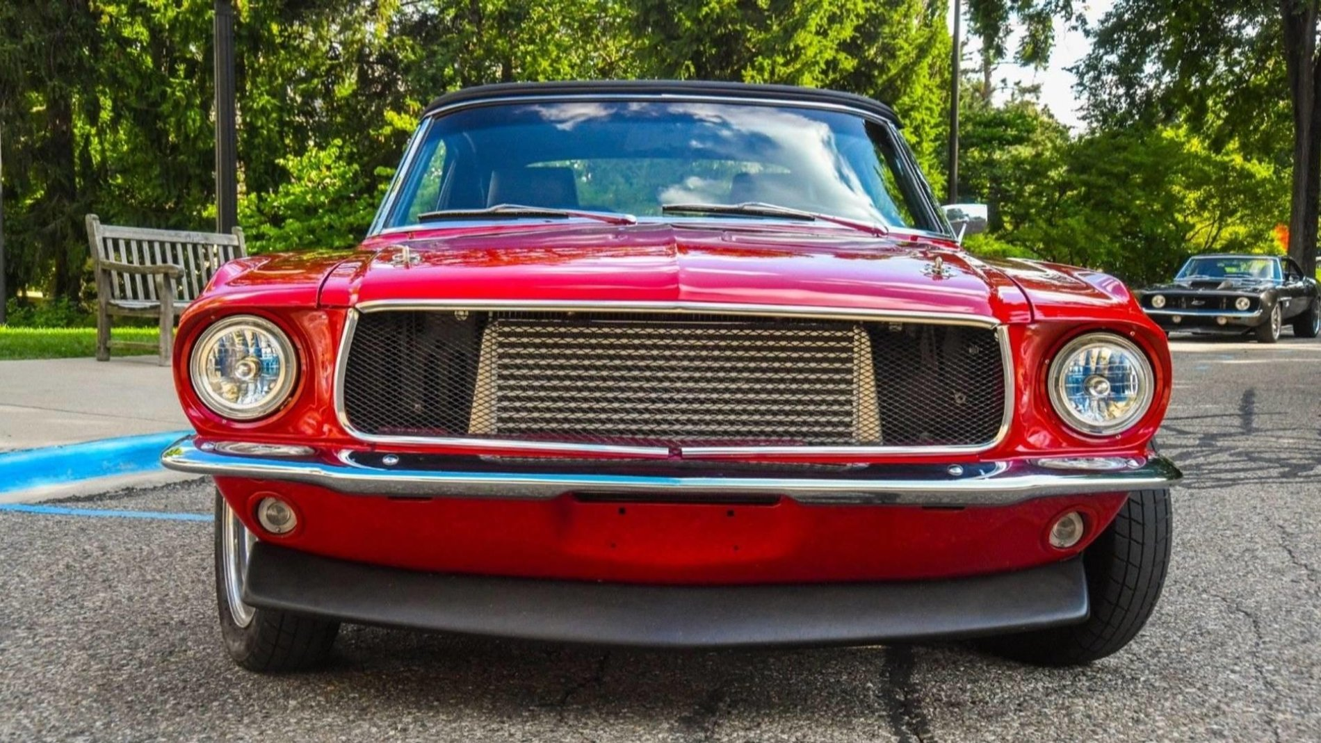 Ford Mustang cu motor 2JZ - Ford Mustang cu motor 2JZ