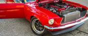 Un Mustang ca asta nu ar trebui sa existe. Are peste 700 de cai putere si motor 2JZ de SUPRA