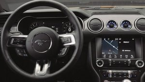 Ford Mustang Facelift: Design Interior