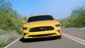Ford Mustang Facelift in actiune