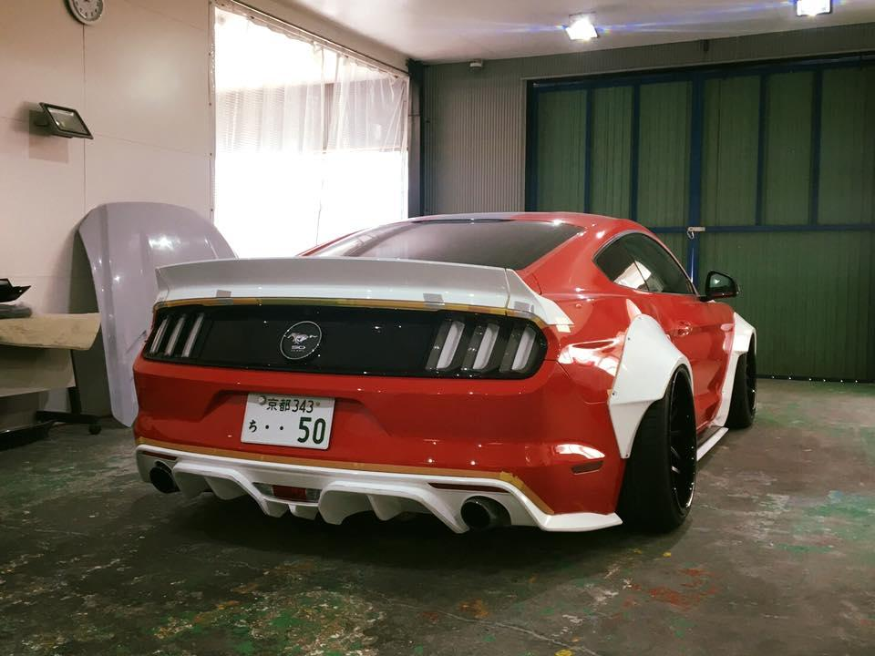Ford Mustang Liberty Walk - Ford Mustang Liberty Walk