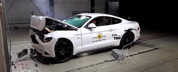 Ford Mustang se intoarce la Euro NCAP cu noi sisteme de siguranta doar ca sa primeasca un scor jenant