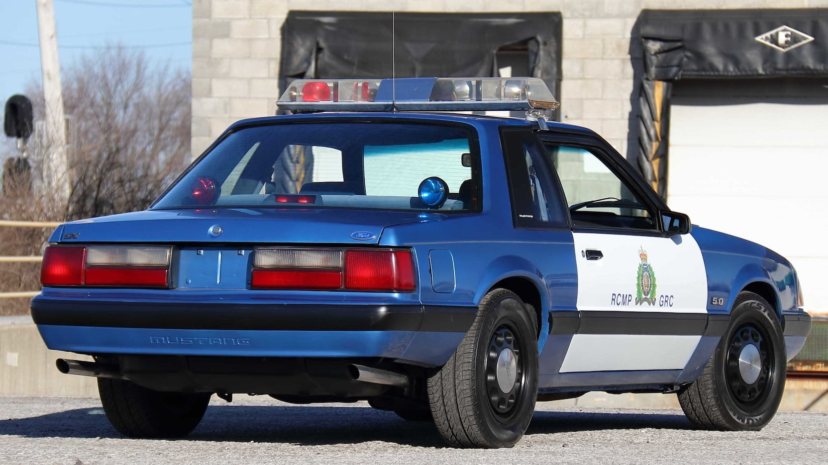 Ford Mustang SSP Police Car - Ford Mustang SSP Police Car