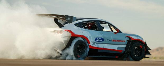 Ford n-a tinut cont de reguli si a lansat un SUV cu 7 motoare electrice si 1400 CP