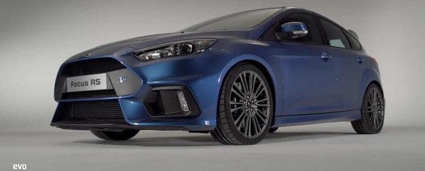 Ford ne ofera un tur al noului Focus RS. PLUS: Cum suna evacuarea