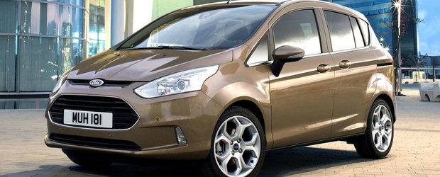 Ford opreste definitiv productia lui B-Max in luna septembrie. Ce se va intampla cu uzina de la Craiova