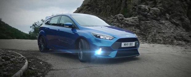 Ford prezinta in actiune si detaliu noul Focus RS