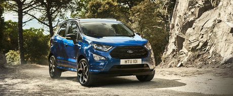 Ford prezinta masina perfecta pentru Europa: noul EcoSport are motor diesel si consum de 4.5l/100 de km