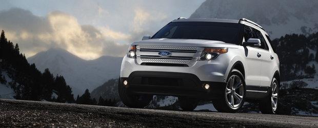 Ford prezinta noul Explorer 2011