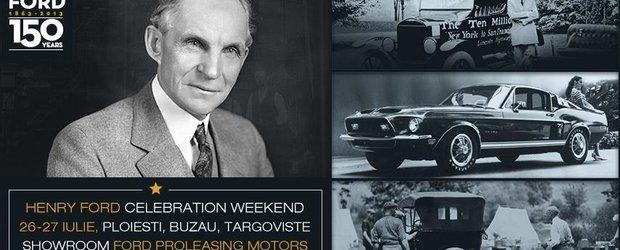 Ford Proleasing sarbatoreste 150 de ani de la nasterea fondatorului, Henry Ford