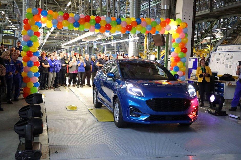 Ford Puma pe linia de productie