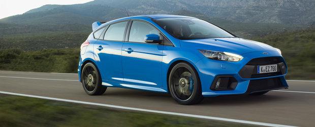 """Ford recunoaste ca a dat chix cu motorul lui Focus RS: """"Stim ca scoate fum alb pe evacuare!"""""""