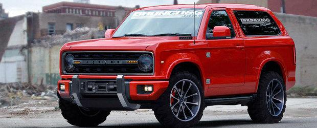 Ford reinvie o legenda. Noul Bronco va fi construit in Australia si va fi vandut la nivel global