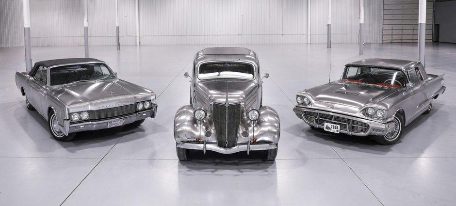 Ford si Lincoln cu caroserie din inox