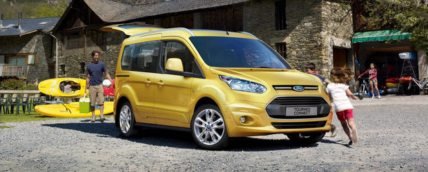 Ford Tourneo Connect are o noua motorizare