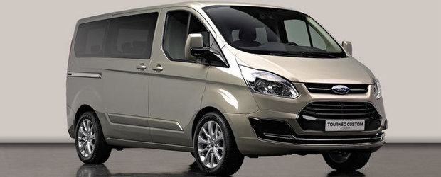 Ford Tourneo Custom Concept - Imagini oficiale