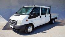 Ford Transit cabina tripla 9 locuri si bena -  fin...