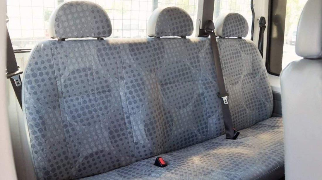 Ford Transit cabina tripla 9 locuri si bena -  finantare fara venituri, avans zero 2011