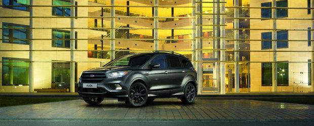 Ford-ul Kuga devine ceva mai sportiv cu ajutorul pachetului estetic ST-Line