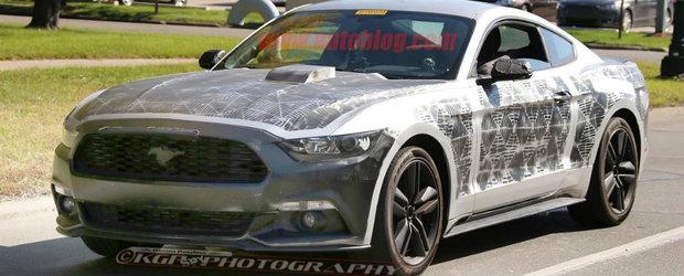 Ford-ul Mustang facelift pregateste o schimbare in gama de motoare si o transmisie cu 10 trepte
