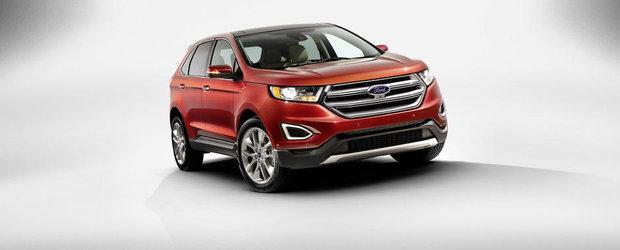 Ford vrea sa cucereasca piata din Europa cu un SUV bazat pe Mondeo