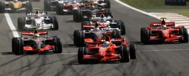 Formula 1 este rupta in doua