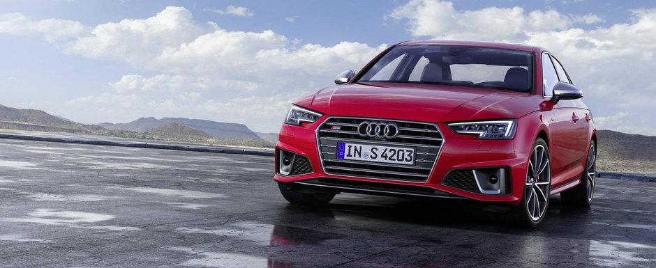 Forta DIESEL! Audi lanseaza in premiera noile versiuni de performanta S4 si S4 Avant cu motor V6 TDI