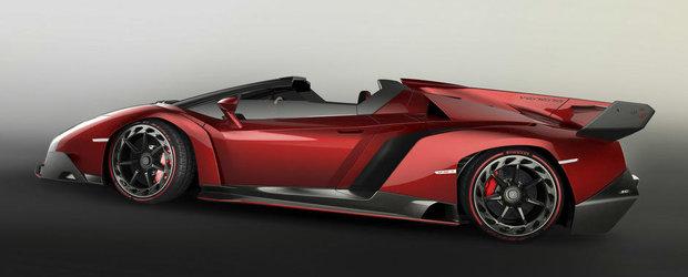 FOTO: Cum arata Lamborghini Veneno Roadster, decapotabila de 3.9 milioane euro