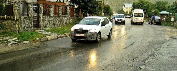 FOTO EXCLUSIV: Dacia pregateste deja un facelift pentru Logan si Sandero?