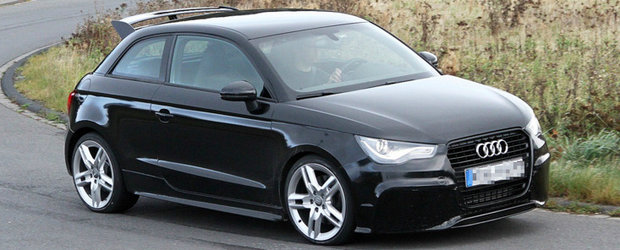 Foto Spion: Viitorul Audi RS1 isi arata coltii