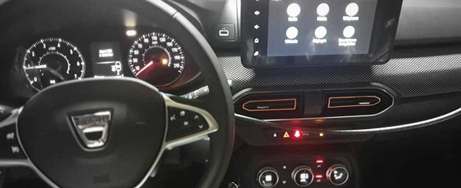Fotografiile pe care Dacia spera sa nu le vada nimeni. Uite cum arata la interior noile Logan si Sandero!