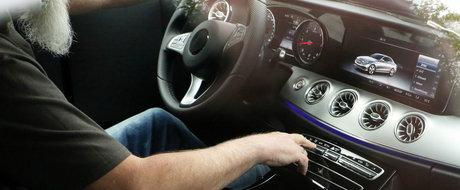 Fotografiile pe care Mercedes nu vrea ca tu sa le vezi. Asa arata interiorul noului E-Class Coupe!