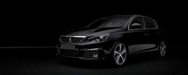 "Francezii au ""scapat"" noul Peugeot 308 pe internet. Cum arata el dupa un facelift minor"