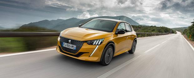 "Francezii de la Peugeot desfac sampania. Noile 208 si 2008 castiga premiul Red Dot la categoria ""Product Design"""