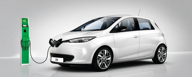 Francezii de la Renault au cu ce se mandri. Tocmai au predat cheia vehiculului electric cu numarul 100.000