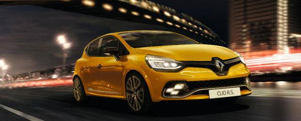 Francezii de la Renault ne mai tachineaza putin cu noul Clio RS. Uite ce aduce nou micutul hot-hatch