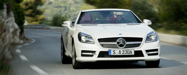 Frankfurt 2011 vine cu o noutate de la Mercedes-Benz: SLK 250 CDI