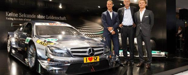 Frankfurt Motor Show 2011: Acesta este noul Mercedes C-Class Coupe AMG DTM!