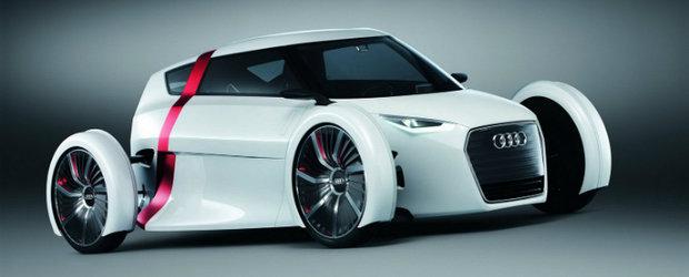 Frankfurt Motor Show 2011: Audi Urban Concept, prezentat in carne si oase