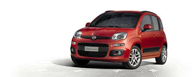 Frankfurt Motor Show 2011: Fiat dezvaluie noul Panda